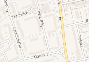 Unhošťská v obci Kladno - mapa ulice