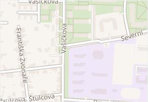 Vašíčkova v obci Kladno - mapa ulice