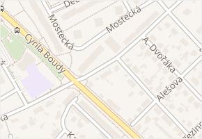 Wolkerova v obci Kladno - mapa ulice