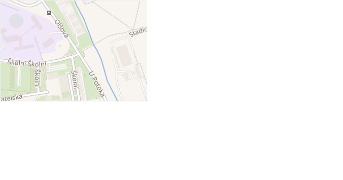 Olšová v obci Klášterec nad Ohří - mapa ulice