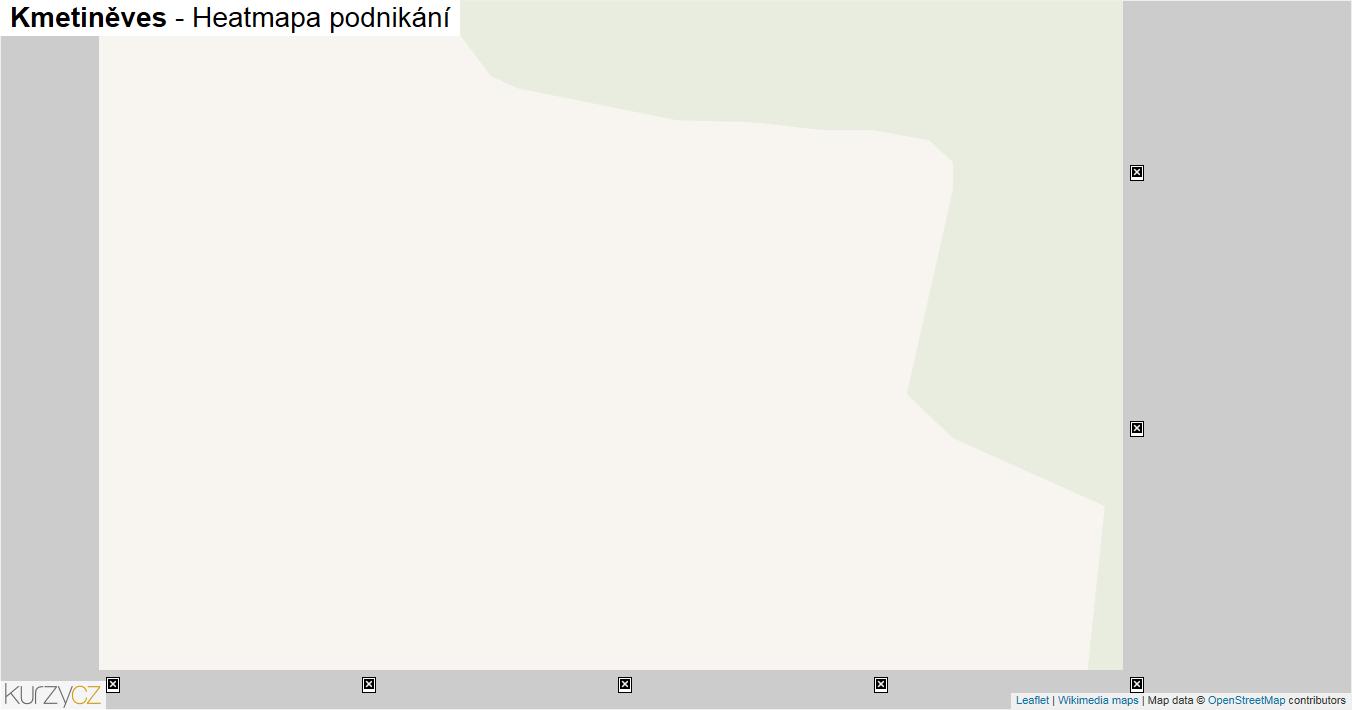 Kmetiněves - mapa podnikání