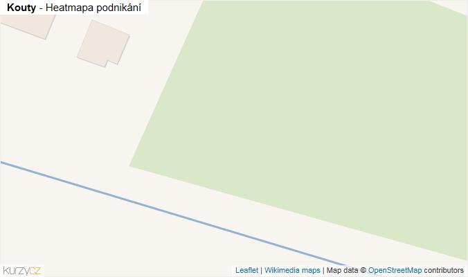 Mapa Kouty - Firmy v obci.