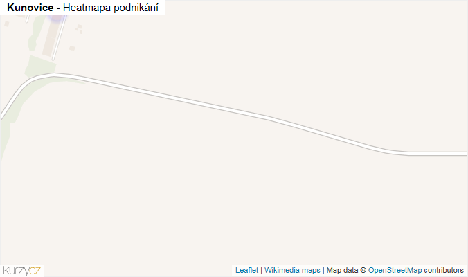Mapa Kunovice - Firmy v obci.