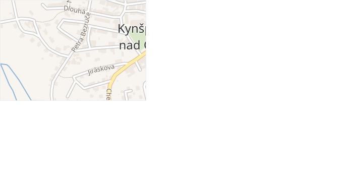 Františka Palackého v obci Kynšperk nad Ohří - mapa ulice