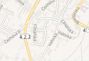 Cihlářská v obci Lednice - mapa ulice