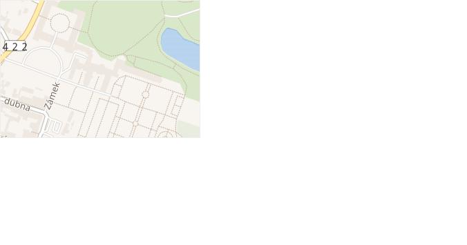 Zámek v obci Lednice - mapa ulice