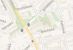 Ještědská v obci Liberec - mapa ulice