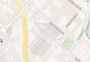 Mrštíkova v obci Liberec - mapa ulice