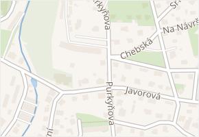 Purkyňova v obci Liberec - mapa ulice