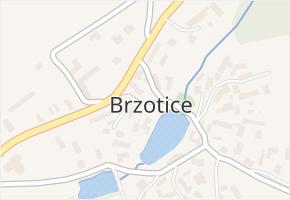 Brzotice v obci Loket - mapa části obce