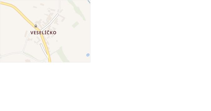 Veselíčko v obci Luká - mapa části obce