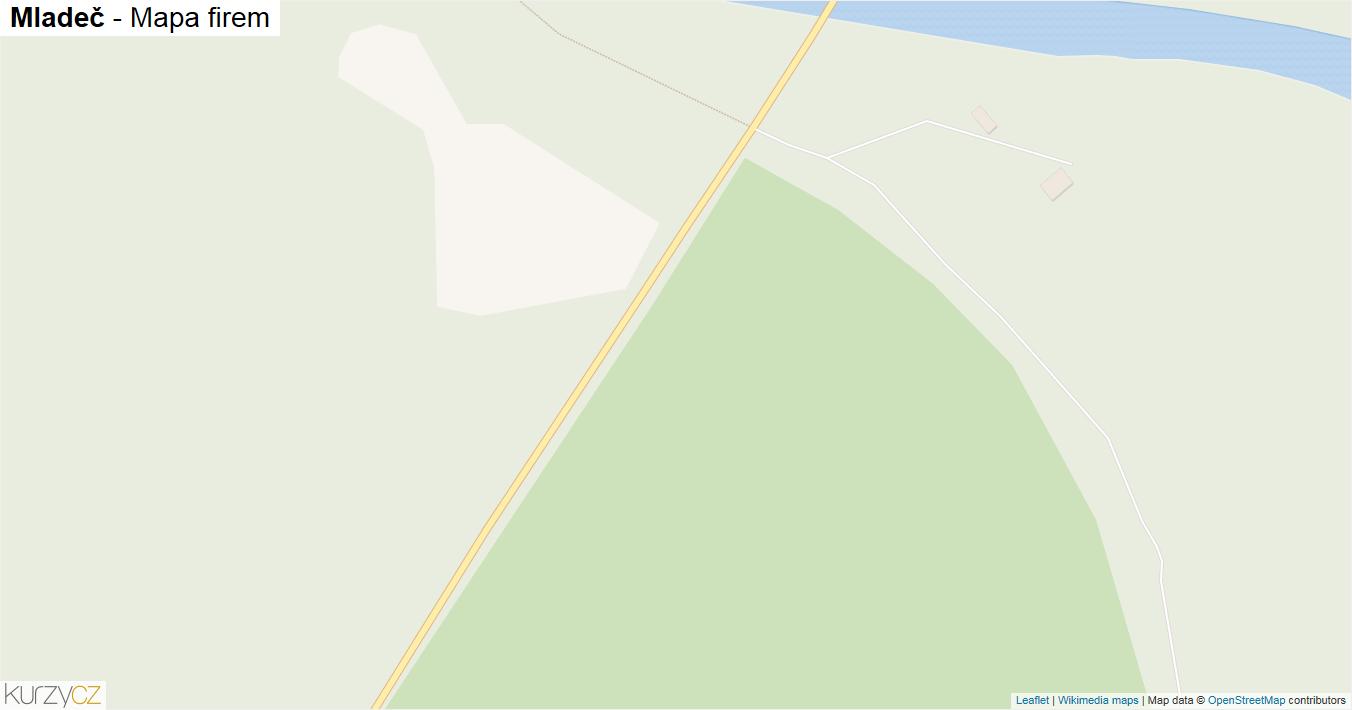 Mladeč - mapa firem