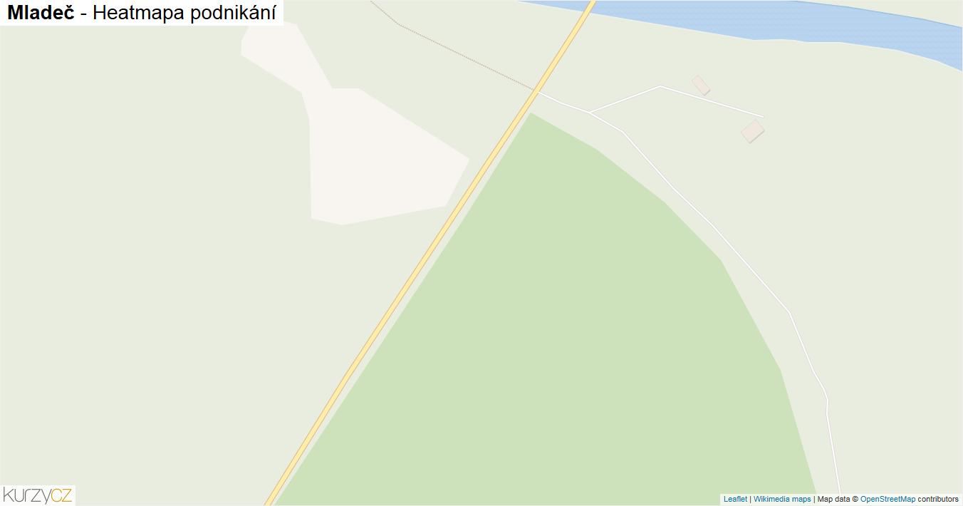 Mladeč - mapa podnikání