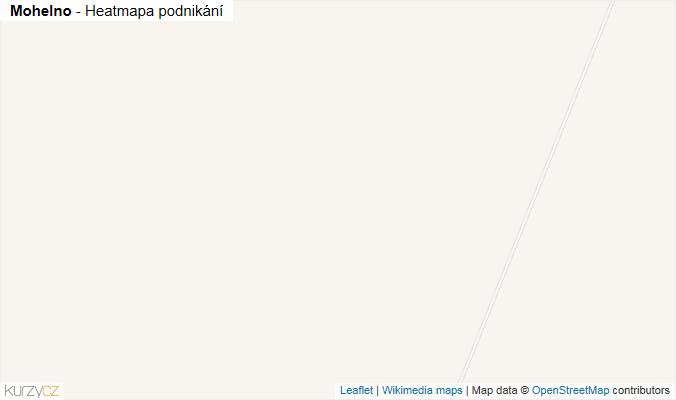 Mapa Mohelno - Firmy v obci.