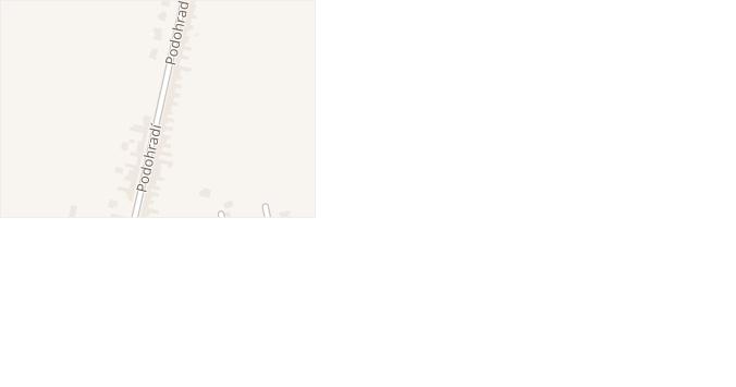 Podohradí v obci Nivnice - mapa ulice