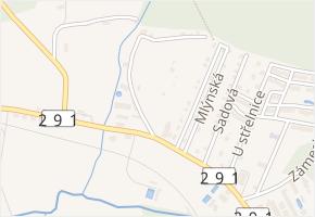 Frýdlantská v obci Nové Město pod Smrkem - mapa ulice
