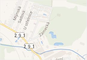 Zámecká v obci Nové Město pod Smrkem - mapa ulice