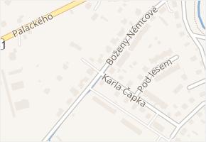 Boženy Němcové v obci Nýrsko - mapa ulice