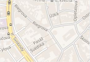 Horní náměstí v obci Olomouc - mapa ulice