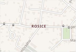 Chelčického v obci Pardubice - mapa ulice