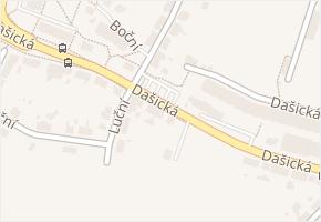 Dašická v obci Pardubice - mapa ulice
