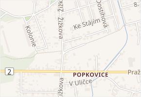 Orebská v obci Pardubice - mapa ulice