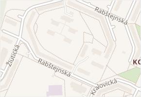 Rabštejnská v obci Plzeň - mapa ulice