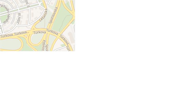 Jihovýchodní IX v obci Praha - mapa ulice