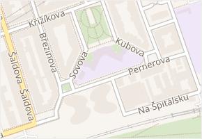 Karlín v obci Praha - mapa části obce