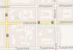 Na Maninách v obci Praha - mapa ulice