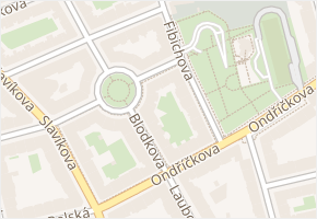 Pospíšilova v obci Praha - mapa ulice