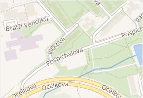 Vlčkova v obci Praha - mapa ulice