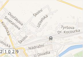 Pod Sokolí strání v obci Sokolov - mapa ulice