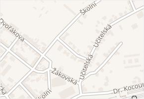 Prokopova v obci Sokolov - mapa ulice