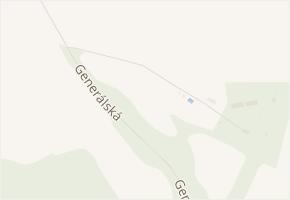 Pod Strání v obci Staňkovice - mapa ulice