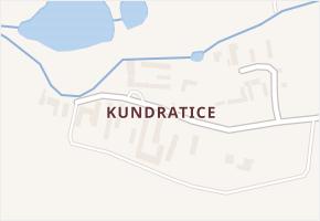 Kundratice v obci Sviny - mapa části obce