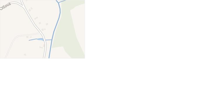 Olšová v obci Třinec - mapa ulice
