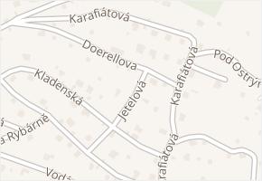 Doerellova v obci Ústí nad Labem - mapa ulice
