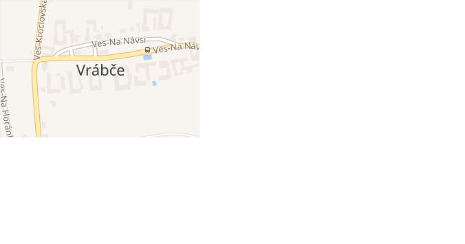 Zastávka-U Rybníka v obci Vrábče - mapa ulice