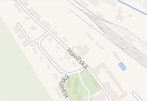 Havířská v obci Zastávka - mapa ulice