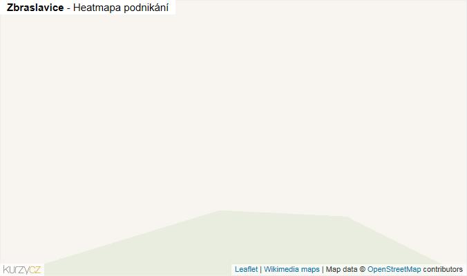 Mapa Zbraslavice - Firmy v obci.