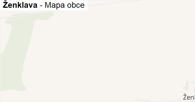 Ženklava - mapa obce