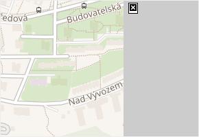 Budovatelská v obci Zlín - mapa ulice
