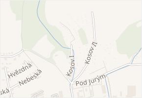 Kosov II v obci Zlín - mapa ulice
