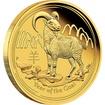 Zlatá mince Rok Kozy 1/10 oz