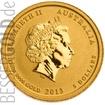 Zlatá mince Rok Hada 1/20 oz