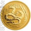 Zlatá mince 10 oz (trojských uncí) ROK HADA Austrálie 2013