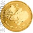 Zlatá mince Rok Zajíce 1 oz