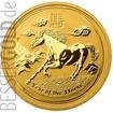 Zlatá mince Rok Koně 10 oz