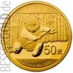 Zlatá mince 1/10 oz (trojské unce) PANDA Čína